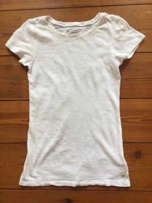 Marc o`Polo: Hochwertiges T-Shirt, weiß, XS/ 34