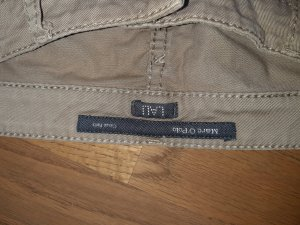 Marc O'Polo Boyfriend Trousers oatmeal mixture fibre