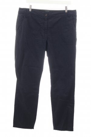 Marc O'Polo Hose dunkelblau Casual-Look