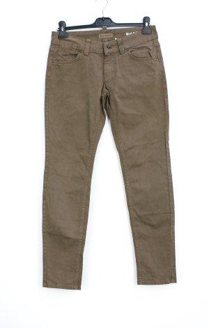 Marc O'Polo Pantalon strech marron clair
