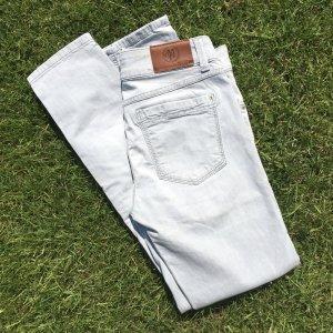 Marc O'Polo Pantalon cinq poches gris clair