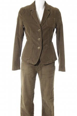 Marc O'Polo Trouser Suit olive green allover print casual look