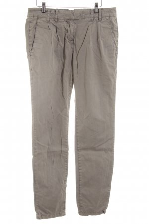 Marc O'Polo Lage taille broek wolwit casual uitstraling