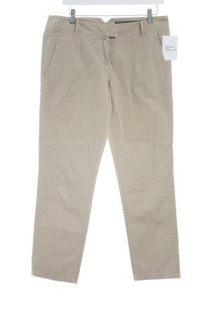 Marc O'Polo Pantalon taille basse beige style décontracté