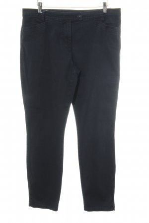 Marc O'Polo Pantalon taille basse bleu foncé style décontracté