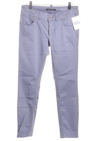 Marc O'Polo pantalón de cintura baja púrpura look casual