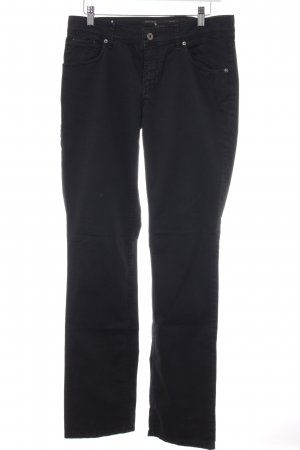Marc O'Polo Low-Rise Trousers black casual look