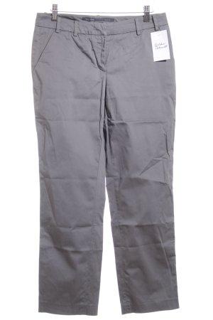 Marc O'Polo Pantalone a vita bassa argento-grigio stile casual