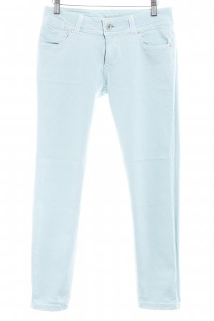 Marc O'Polo Low Rise jeans babyblauw gedrukte letters casual uitstraling
