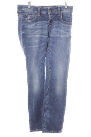 Marc O'Polo Hüftjeans dunkelblau Jeans-Optik