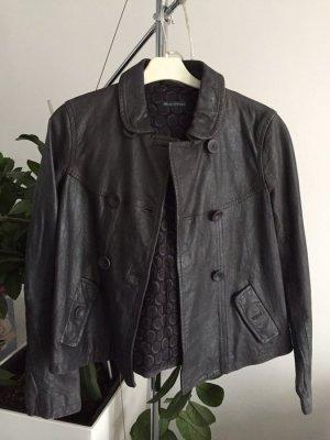 Marc O'Polo Jacke metallic schwarz grau Gr S/M neu