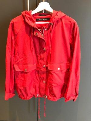 Marc O'Polo Chaqueta tipo blusa carmín-rojo oscuro