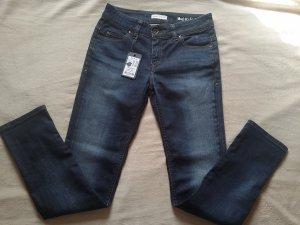 Marc O'Polo Tube jeans blauw-donkerblauw Katoen