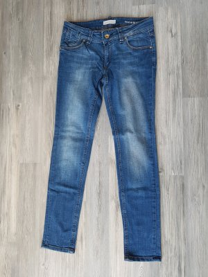 Marc O'Polo Straight Leg Jeans blue cotton