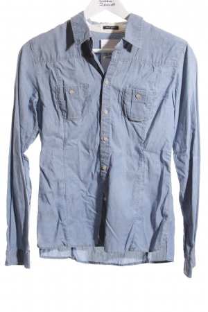 Marc O'Polo Jeansbluse hellblau Casual-Look