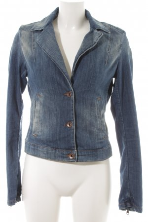 Marc O'Polo Jeansjacke blau Casual-Look