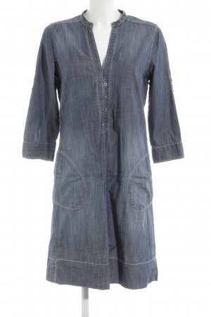 Marc O'Polo Denim Dress art pattern boyfriend style