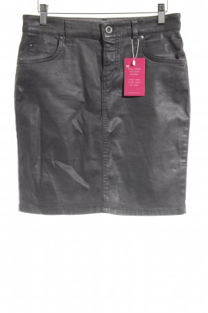 Marc O'Polo Jeansrock anthrazit Casual-Look