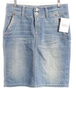 Marc O'Polo Jeansrock hellblau schlichter Stil