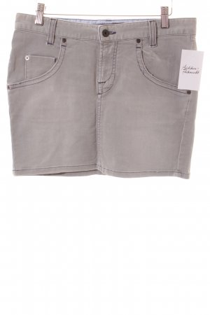 Marc O'Polo Jeansrock hellgrau Washed-Optik