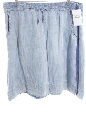 Marc O'Polo Jeansrock kornblumenblau-himmelblau Jeans-Optik