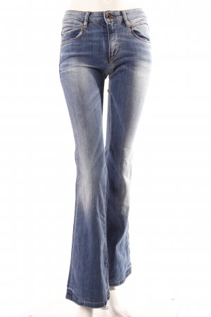 Marc O'Polo Jeansschlaghose blau