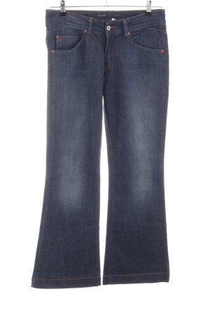 Marc O'Polo Jeansschlaghose blau Casual-Look