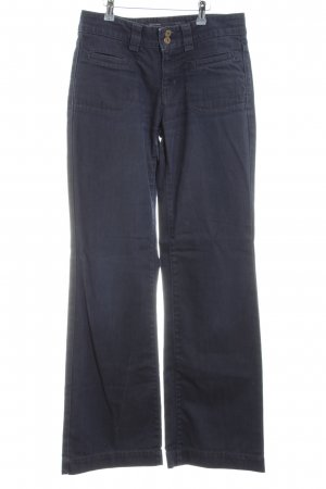 Marc O'Polo Jeans a zampa d'elefante blu scuro stile casual