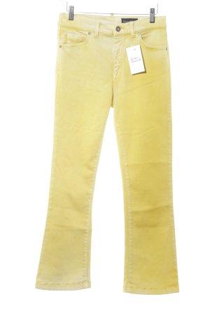 Marc O'Polo Jeans a zampa d'elefante giallo-giallo scuro Colore sfumato