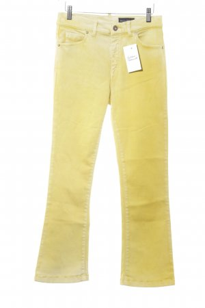 Marc O'Polo Jeansschlaghose gelb-dunkelgelb Farbverlauf Casual-Look