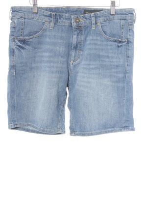 Marc O'Polo Jeansshorts blassblau Jeans-Optik