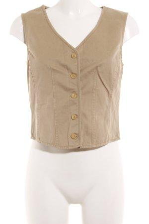 Marc O'Polo Gilet en jean beige style extravagant