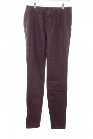 Marc O'Polo Jeggings braunrot-bordeauxrot extravaganter Stil