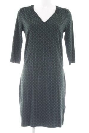 Marc O'Polo Jerseykleid dunkelgrün Allover-Druck Casual-Look