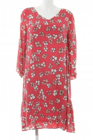 Marc O'Polo Jerseykleid ziegelrot Blumenmuster Romantik-Look