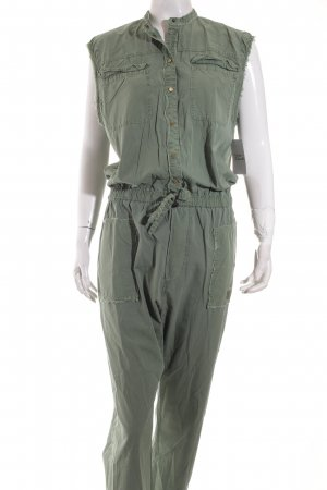 Marc O'Polo Jumpsuit grüngrau Casual-Look