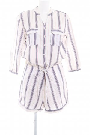 Marc O'Polo Jumpsuit Streifenmuster Casual-Look