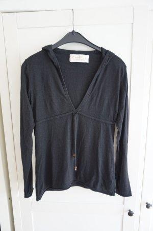 Marc O'Polo Kapuzen Pullover schwarz S 36 - 38 V Ausschnitt
