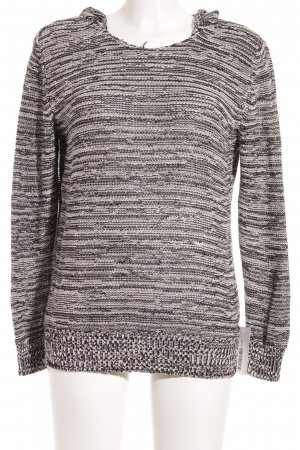 Marc O'Polo Hooded Sweater black-white flecked casual look