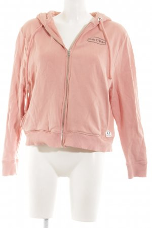 Marc O'Polo Kapuzensweatshirt pink sportlicher Stil