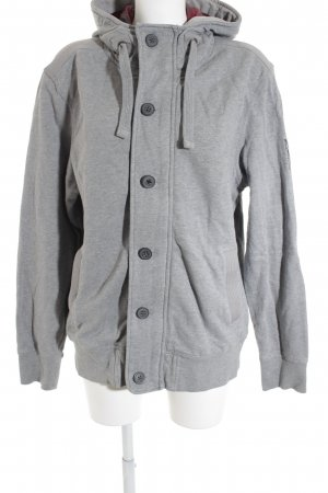 Marc O'Polo Kapuzensweatshirt hellgrau-grau sportlicher Stil