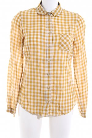 Marc O'Polo Checked Blouse primrose-natural white check pattern casual look