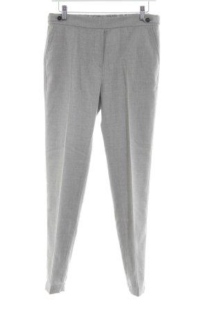 Marc O'Polo Pantalón de pinza alto gris claro moteado estilo «business»