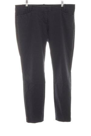 Marc O'Polo Pantalón de pinza alto negro estilo «business»