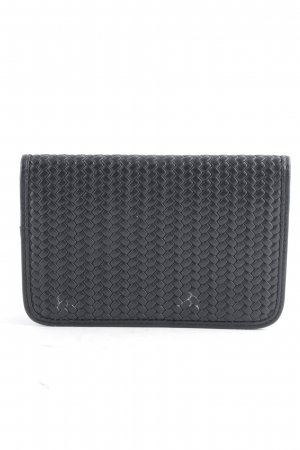 Marc O'Polo Card Case black cable stitch casual look