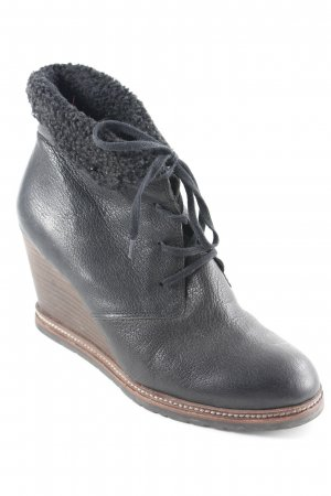 Marc O'Polo Wedge Booties black classic style