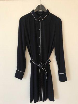 Marc O'Polo Shirtwaist dress dark blue viscose