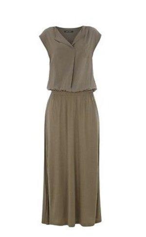 Marc O'Polo Kleid aus fließendem Modal mit Brusttasche