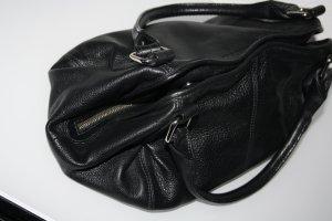 Marc O`Polo Kleine Leder Handtasche Schwarz