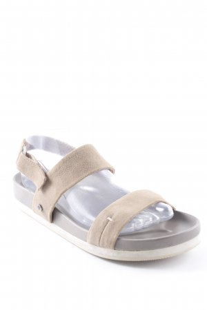 Marc O'Polo Komfort-Sandalen sandbraun Casual-Look
